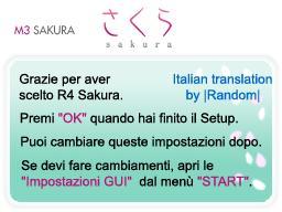 Thumbnail 1 for R4 Sakura italian